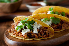 Pulled Pork Tacos Stock Images