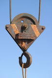 Pulley. Taken on Bridlington Harbour royalty free stock photography