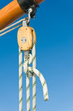 Pulley close-up Stock Photos
