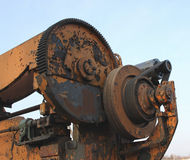 Pulley and gears Stock Photography