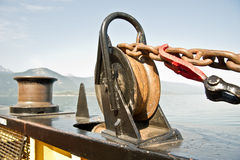 Pulley and tackle Royalty Free Stock Image