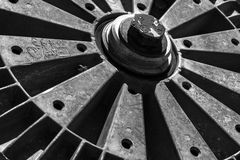 Pulley Wheel Abstract Royalty Free Stock Image