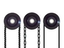 Pulley Wheel Stock Photo