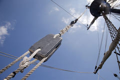 Free Pulleys, Mast And Sails Stock Images - 31670894