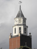 Pulliam Hall Bell Tower, Carbondale, IL Imagem de Stock