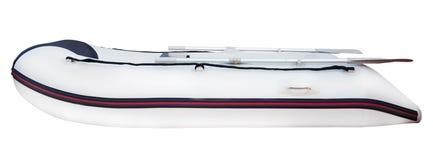 Pulling boat isolated on white background Royalty Free Stock Photo