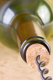 Pulling the Cork Stock Images