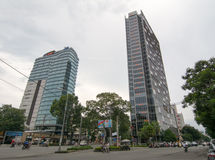 Pullman Centre in Ho Chi minh city Stock Image