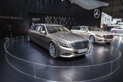 Pullman 2015 de Mercedes-Maybach S600 Photographie stock libre de droits