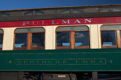 Pullman Railroad Train Car Royalty Free Stock Images