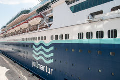 Pullmantur Cruise Line Royalty Free Stock Photo