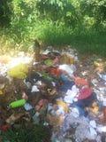 Pullution del mondo e dell'inquinamento ambientale fotografie stock libere da diritti