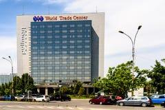 Pulmanowski Bucharest world trade center Fotografia Royalty Free