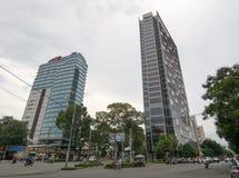 Pulmanowski Centre w Chi minh mieście Ho Obraz Stock