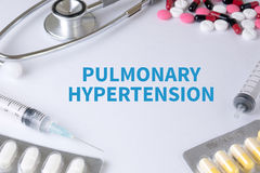 PULMONARY HYPERTENSION Royalty Free Stock Photography