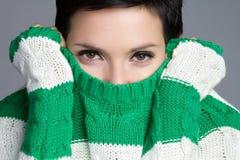 pulower kobieta Fotografia Royalty Free
