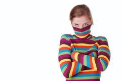 pulower pasiasta kobieta Obraz Stock