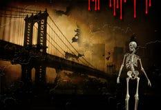 Pulp Fiction basierte Kunst Stockbild