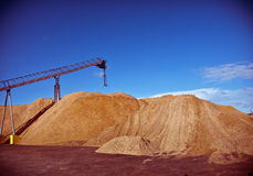 Pulp Mill Royalty Free Stock Image