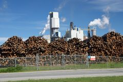 Pulp Mill Royalty Free Stock Images