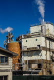 Pulp and paper mill, Royalty Free Stock Photos