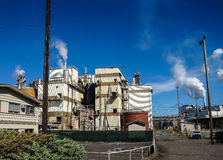Pulp and paper mill, Royalty Free Stock Photo