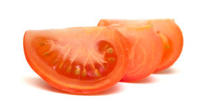 Pulp of a tomato Stock Photography