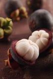 Pulpa del mangostán Imágenes de archivo libres de regalías