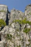 pulpit βράχος Στοκ φωτογραφία με δικαίωμα ελεύθερης χρήσης