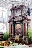 Pulpit εκκλησιών στοκ εικόνα