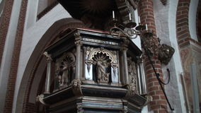 Pulpit in a church Royalty Free Stock Photography