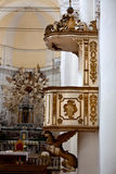 PUlpit Duomo, Noto, Sicily, Italy Royalty Free Stock Photography