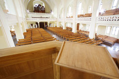 Pulpit in Evangelical Lutheran Cathedral Stock Image