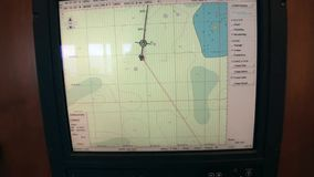 Pulpit Operatora badawcza wyprawa wysyła naczynie Antarctica ocean zdjęcie wideo