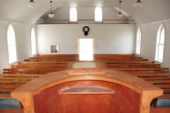 Pulpit Point of View Royalty Free Stock Photo