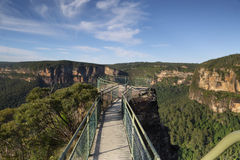 Pulpit Rock Lookout, Blue Mountains Australia Royalty Free Stock Photography