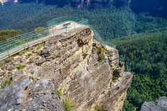 Free Pulpit Rock Lookout, Blue Mountains National Park, Australia 48 Stock Photography - 146113102