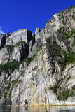 Pulpit rock, Lysefjorden, prekestolen royalty free stock photos
