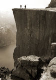 Pulpit Rock, Norway Stock Image