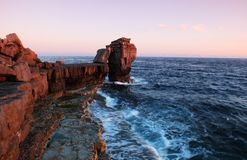 Pulpit rock Royalty Free Stock Photo