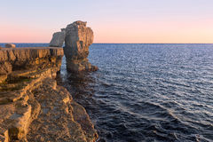 Pulpit Rock. Royalty Free Stock Images