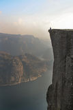 Pulpit Rock Royalty Free Stock Photos