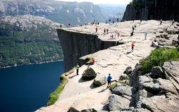 Pulpit Rock royalty free stock images