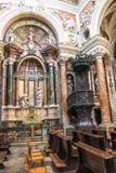 Pulpit at San Lorenzo Church, Turin Stock Photography