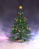Pulple Christmas Royalty Free Stock Images