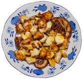 Pulpo a la gallega Royalty Free Stock Image