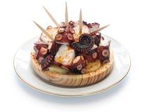 Pulpo a la gallega, spanish tapas cuisine Stock Photo