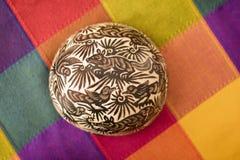 pulque的饮用器皿 图库摄影