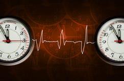 puls часов Стоковые Изображения RF