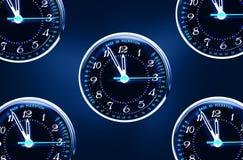 Puls clock stock photo